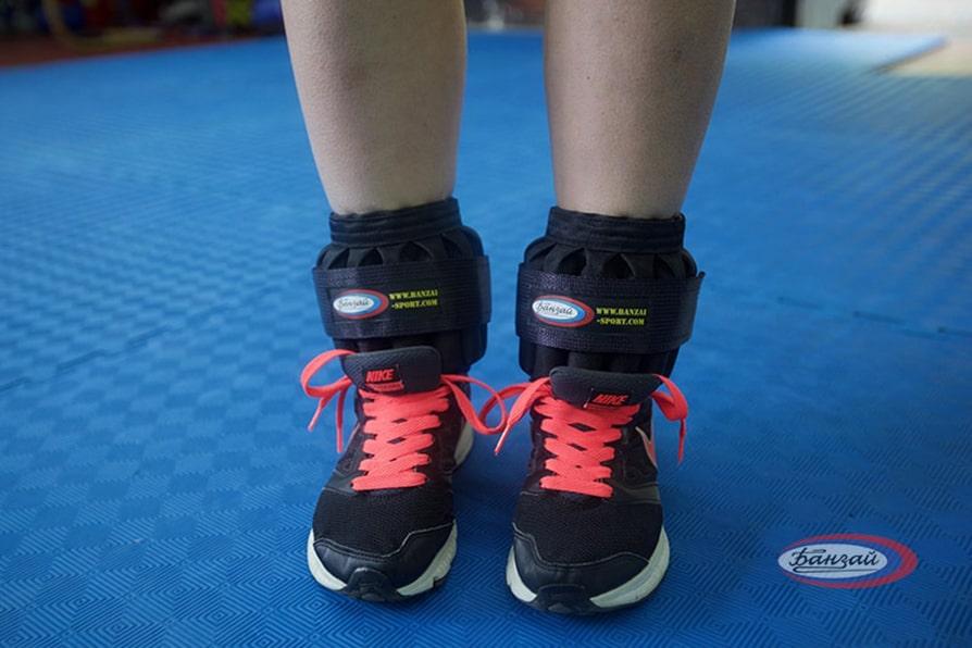 Утяжелители для ног польза вред упражнения фото